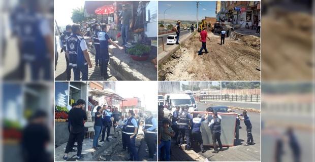 """Diyarbakır Büyükşehir Belediyesi """"Zabıtalarımız, Kaldırım İşgallerine İzin Vermiyor"""""""