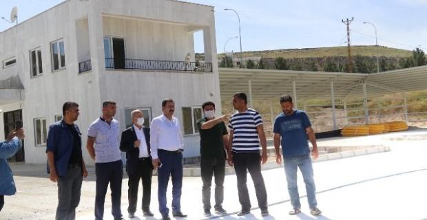Karaköprü Belediyesi GAP İdaresi ile birlikte geri dönüşüm tesisini hayata geçiriyor.