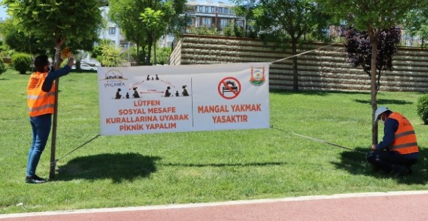 Şanlıurfa'da Mesire Alanlarında Mangal Yasak!