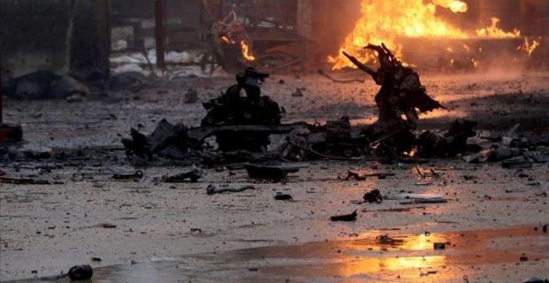 Rasulayn'da pazar yerine bombalı saldırı