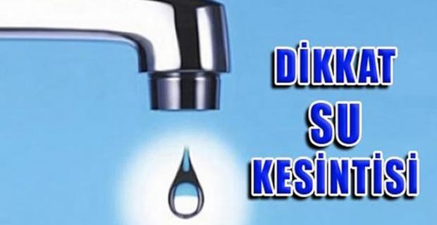"""Siirt Belediyesi """" 2-3 saat süreyle kısmi su kesintileri meydana gelecektir"""""""