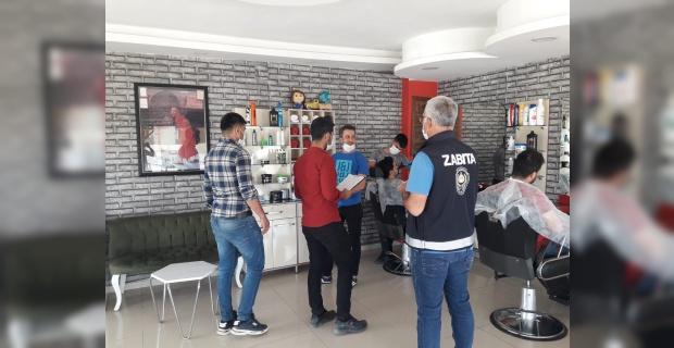 Şırnak Belediyesi denetimlerine devam ediyor.