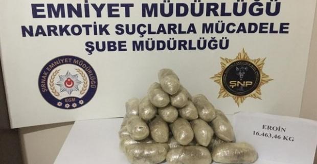 Şırnak'ta Narkotik Suçlarla Mücadele Devam Ediyor.