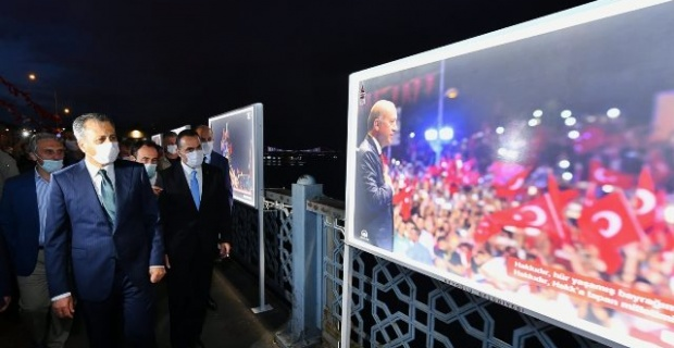 """""""15 Temmuz İstiklal"""" sergisi açıldı"""