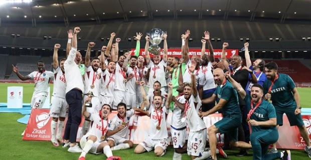 58. Ziraat Türkiye Kupası Trabzonspor'un