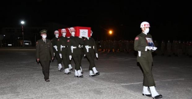 Şehit Demirci,memleketi Samsun'a uğurlandı