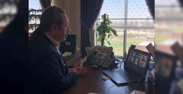 Başkan Kaya,pamuğa olan devlet desteğinin arttırılmasını talep etti.
