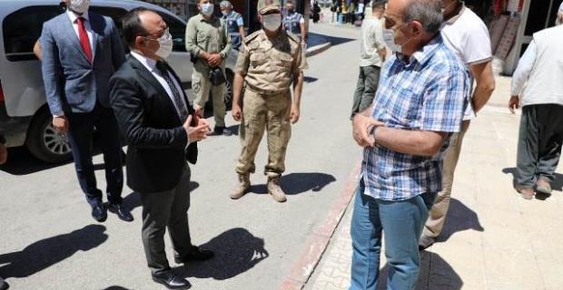 Elazığ Valisi Yırık'dan bilinçlendirme ziyareti
