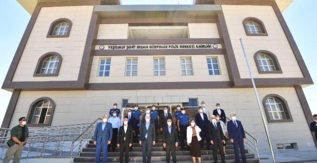 Emniyet Genel Müdürü Aktaş,Gaziantep Yeşilvadi Şehit Ersan Gürpınar Polis Merkezi Amirliği'ne Ziyaret Etti