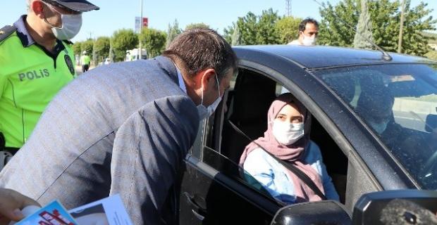 Şanlıurfa Vali Vekili Esen, Trafik Kontrollerini Yerinde Denetledi