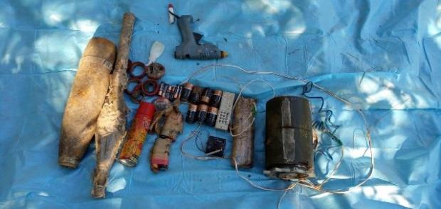 Terör Örgütüne Ait EYP, Mühimmat ve Malzeme Ele Geçirildi