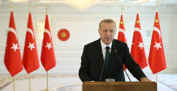 """Cumhurbaşkanı Erdoğan """"Akdeniz'de Türkiye olmadan atılacak adımların başarı şansı kesinlikle yoktur"""""""