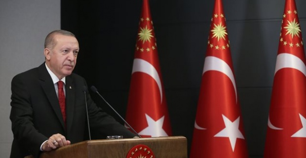 """Cumhurbaşkanı Erdoğan """"Hiçbir mücadeleden kaçmayız."""""""