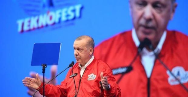 Cumhurbaşkanı Erdoğan Teknofest 2020'de