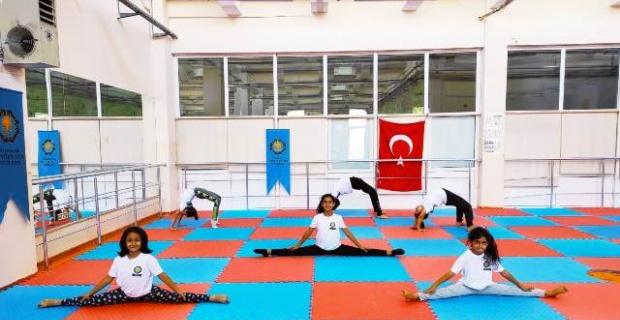 """Diyarbakır Büyükşehir """"Jimnastik Kursumuzla Çocukların Fiziksel Gelişimine Katkı Sunuyoruz"""""""