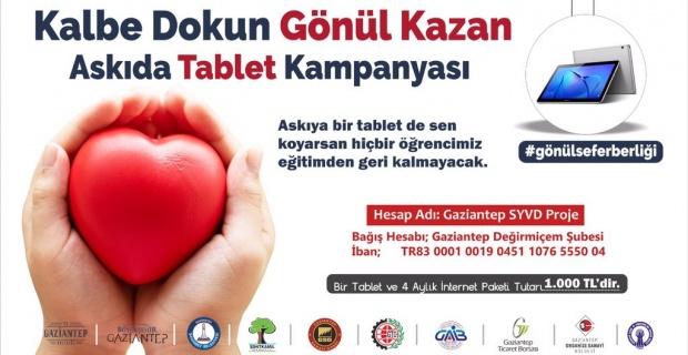 """Gaziantep Valiliği """"Hedef 100 bin tablet"""""""