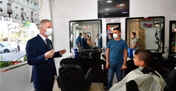 """Gaziantep Valisi Gül """"kurallara uymadığımız sürece salgın hastalıktan kurtulmamız mümkün değil"""""""