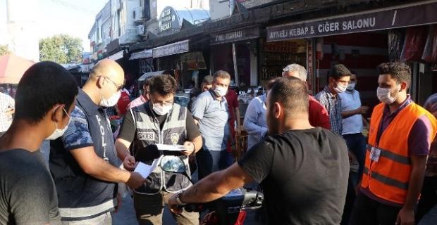 Şanlıurfa'da Koronavirüs Denetimleri devam ediyor
