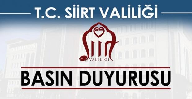 Şirvan İlçe Merkezi, İlçeye Bağlı (2) Köy ve (1) Mezra Karantina'ya Alındı.