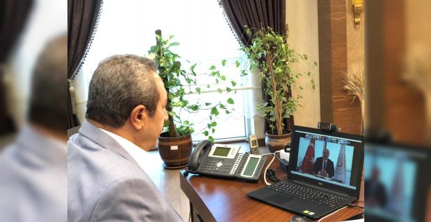 Başkan Kaya,Şanlıurfa'yı ve Urfa Fıstığını gündeme getirdi.