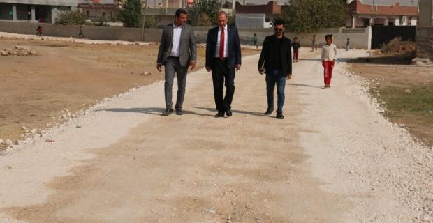 """Başkan Yalçınkaya """"""""Yılbaşında kadar inşallah Akçakale'nin bütün köylerini elden geçirmiş olacağız"""""""