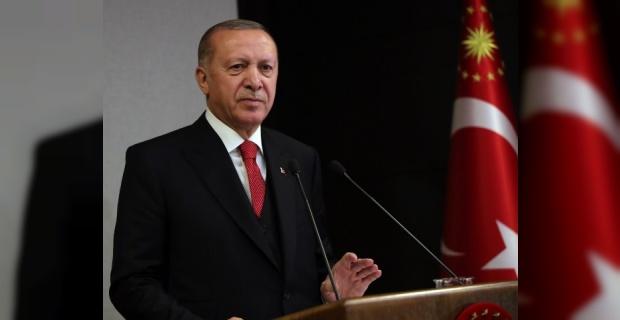 """Cumhurbaşkanı Erdoğan """"hedeflerimize aynı şekilde ulaşmakta kararlıyız"""""""