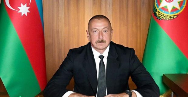 """Ilham Aliyev """"Kurtarılan topraklarda şehirler inşa edip bu alanları cennete çevireceğiz"""""""