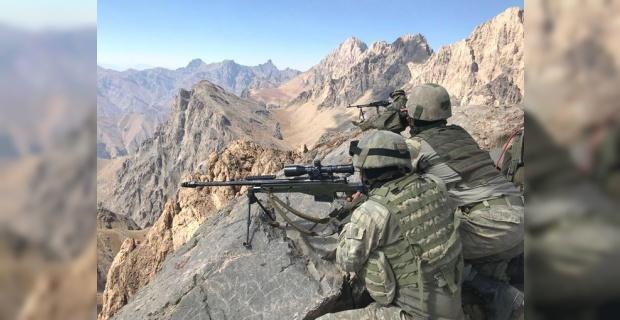 17 PKK/YPG'li terörist etkisiz hale getirildi.