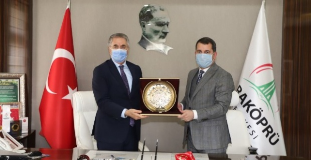 AK Parti Yerel Yönetimler Başkan Yardımcısı Yanılmaz,Karaköprü'de