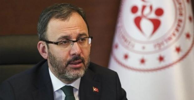 """Bakan Kasapoğlu """"Şırnak'ta, Cudi'de Tenis Şampiyonası düzenleyeceğiz."""""""