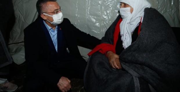 """Cumhurbaşkanı Yardımcısı Oktay """"Devletimizin tüm imkanları İzmir için"""""""