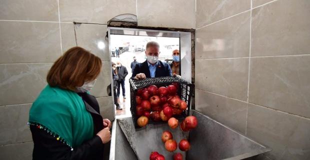"""Gaziantep'te """"Nar Hanım Ellerde Hayat Buluyor"""""""