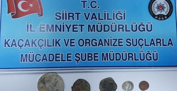 Siirt'te Tarihi Eser Kaçakçılığı yapan (11) Şüpheli Yakalandı.