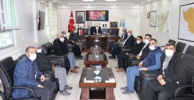 """Başkan Aksoy """"iki aileyi bir araya getirerek barış ile sonuçlandırdık"""""""