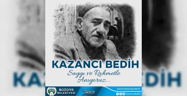 """Başkan Aksoy """"saygı ve rahmetle anıyoruz"""""""