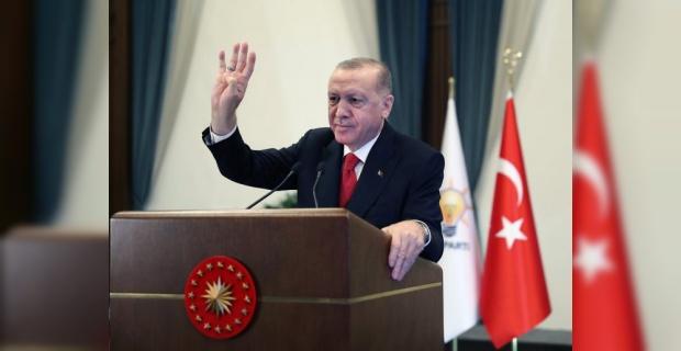"""Cumhurbaşkanı Erdoğan """"Büyük ve güçlü Türkiye'nin inşasını sürdürüyoruz"""""""