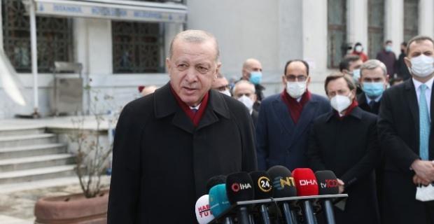 Cumhurbaşkanı Erdoğan, cuma namazı sonrası gündeme ilişkin değerlendirmelerde bulundu