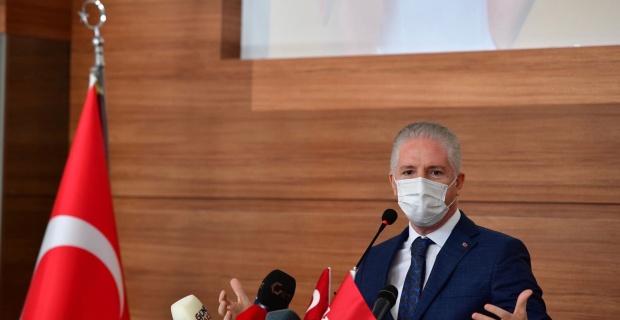 """Gaziantep Valisi Gül """"Lütfen cezai işlem yapılmasına gerek bırakmadan kurallara uyalım..."""""""