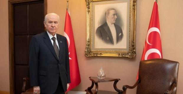 """MHP Genel Başkanı Bahçeli """"Sırtımızdan kurban kestirmeyiz"""""""