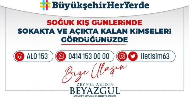"""Şanlıurfa Büyükşehir Belediyesi """"Misafirimiz olsunlar"""""""