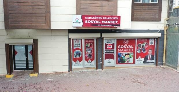 Sosyal Merketten,5 ayda 3 bin ihtiyaç sahibi vatandaş ücretsiz alışveriş yaparak faydalandı