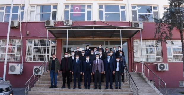 Vekil Cevheri'den Başkan Bayık'a ziyaret
