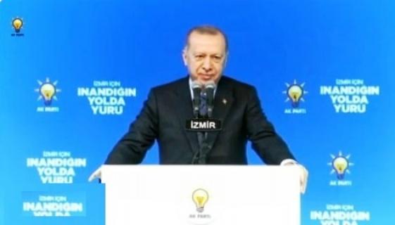 """Cumhurbaşkanı Erdoğan """"Nerede, hangi inde terörist varsa o inde biz de varız."""""""