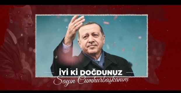 Cumhurbaşkanı Erdoğan'ın doğum gününü on binlerce kişi kutladı