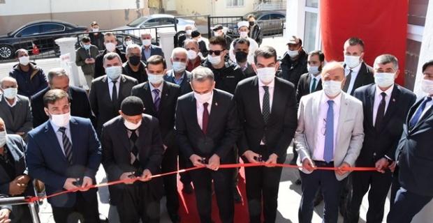 Hacı Gani Diler Camii ibadete açıldı.