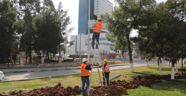 """Haliliye'de """"Güvenli Parklar"""" projesi devam ediyor"""