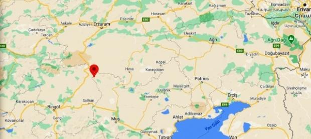Varto merkezli 4.3 büyüklüğünde deprem