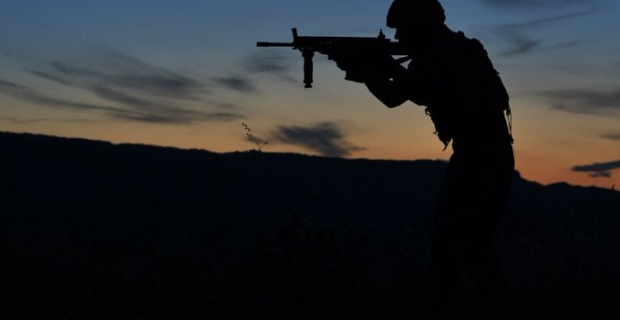 1 PKK/YPG'li terörist etkisiz hâle getirildi.