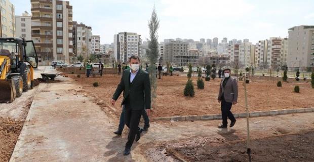 """Baydilli,""""yeni parklar yaparak ilçenin yeşil alan oranını artırıyoruz"""""""