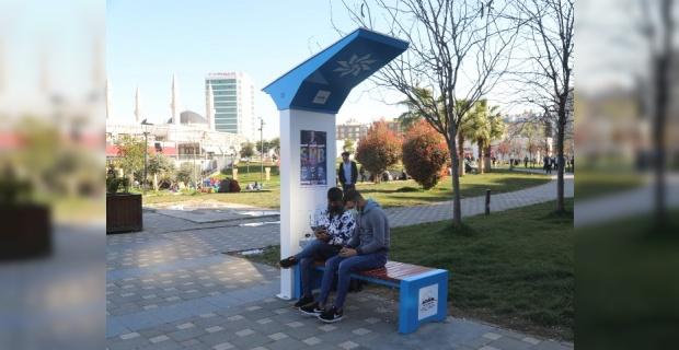 """Büyükşehir,""""ŞARJ EDEN AKILLI BANK"""" uygulamasını hizmete sundu"""